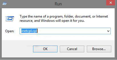 How to Open Internet Options for Internet Explorer in
