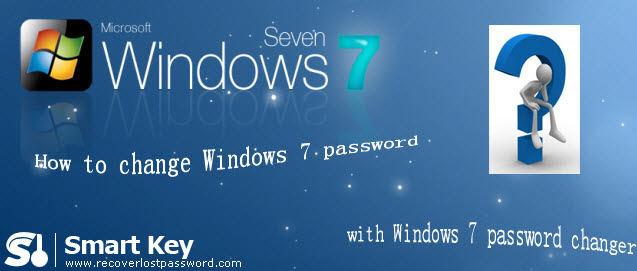 how to change windows password windows 7