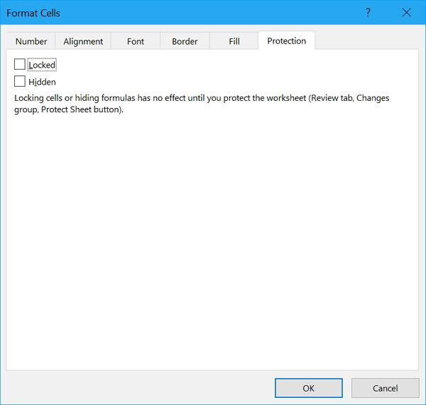 How to Lock or Unlock All/Specific Cells in Excel 2016/2013