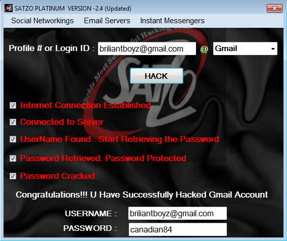 fb account hacker software download