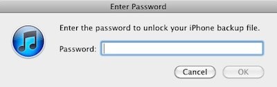 itunes password forgot