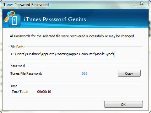 itunes password genius app