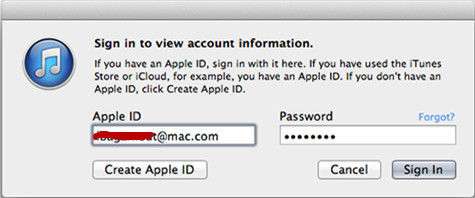 how to find your itunes password