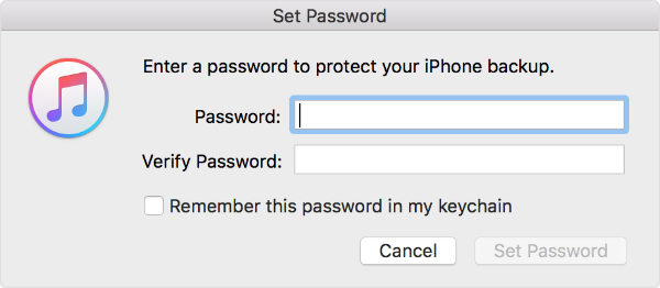 itunes encryption software