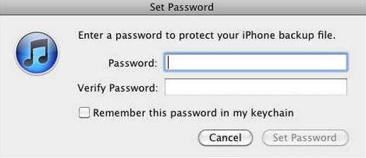 reset iphone encrypted backup password