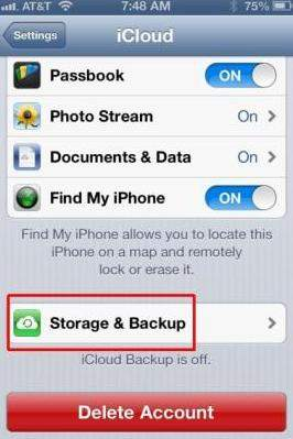 backup your iphone before installing ios 7