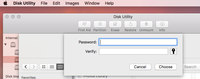 password protect folder mac and windows
