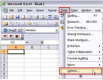 password protect office 2003
