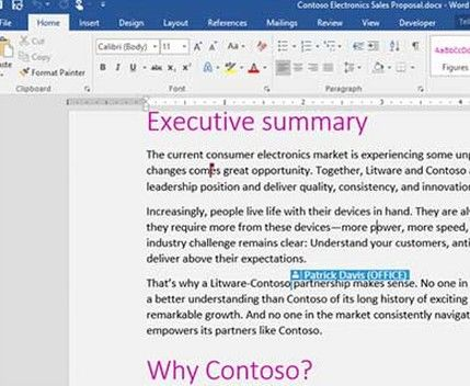 microsoft office 2016 adds new features to word, excel and outlook