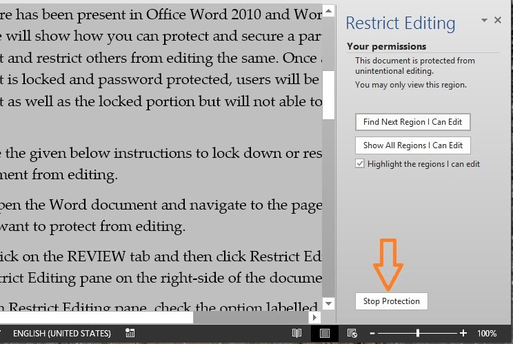 cant edit document in word 2016