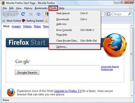 how to delete password history in firefox
