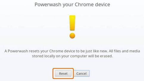 reset chromebook password