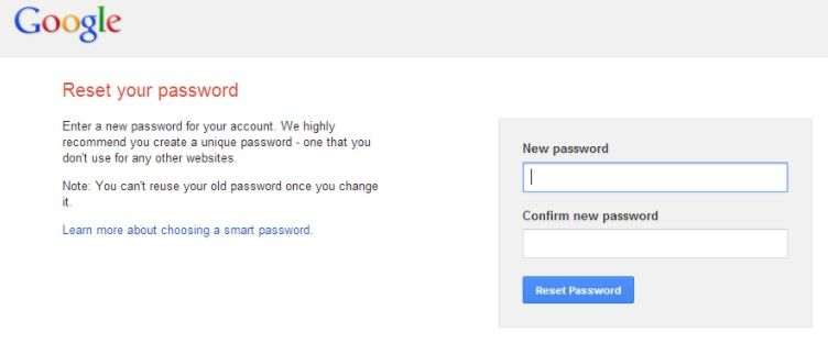 Forgot the Google Password? Here's the Fix