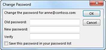 set outline file password