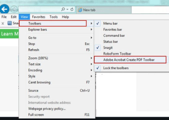 how to convert web page to pdf