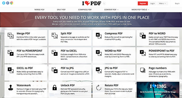 Top 3 Free SmallPDF Alternatives of 2018