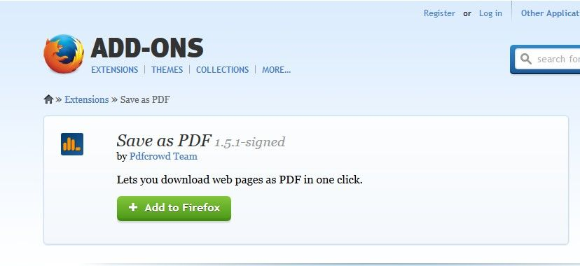 save and print web page as pdf on ie