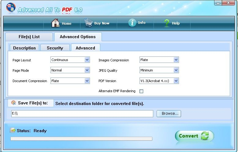 how to convert image to pdf file