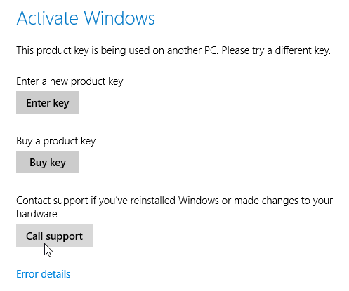 activate windows and enter key