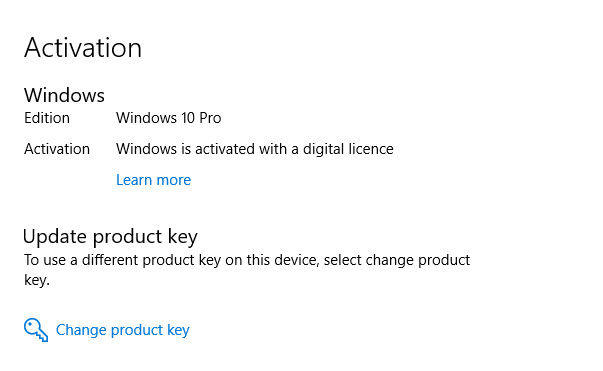 How to Find Windows 10 Pro Product Key in 2018