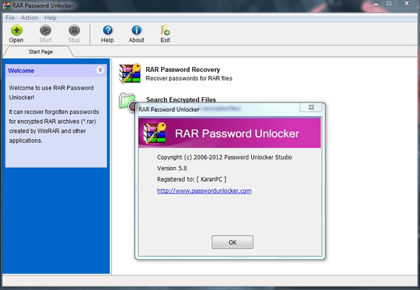 download rar password recovery