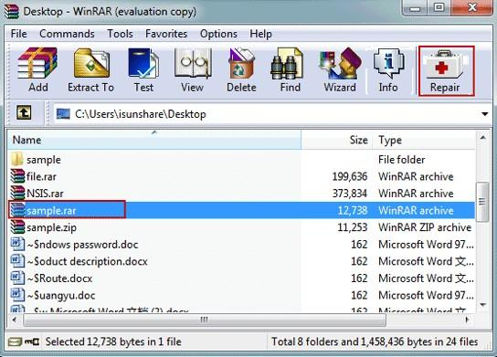The Best Way to Remove WinRAR Password without Software