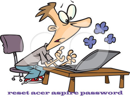 reset acer aspire password