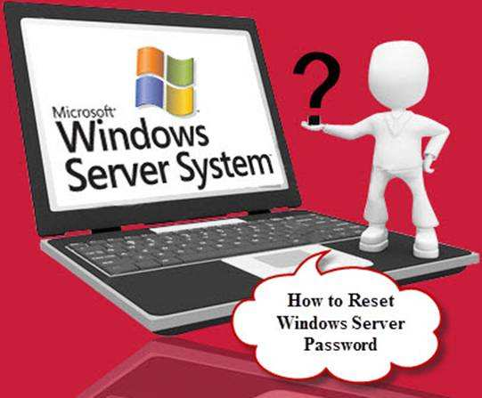 reset windows server password