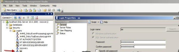 SQL Server password breaker