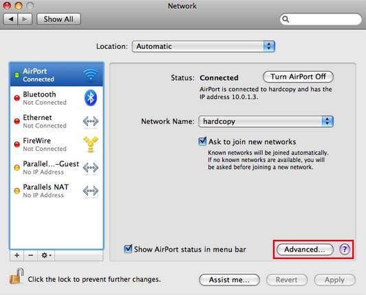how to recover mac wifi password