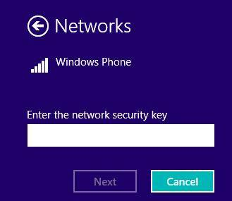 update wifi network passcode in windows 8