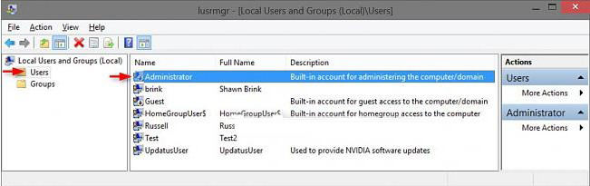 how to disable built-in administrator account in windows 10