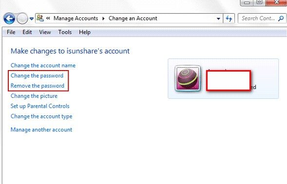 how to crack open windows 8 password