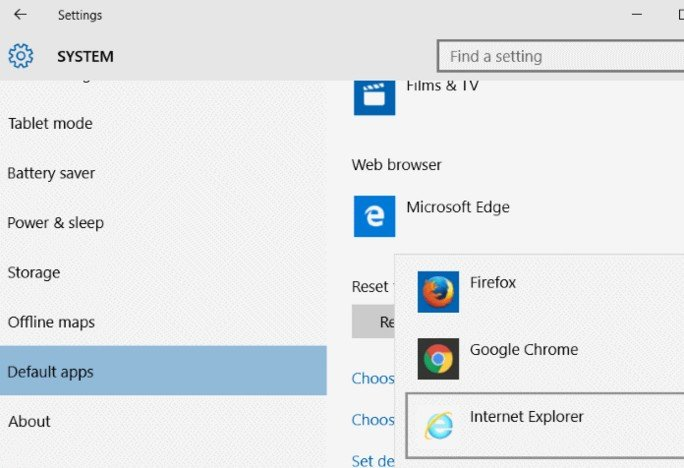 remove/disable windows 10 edge browser