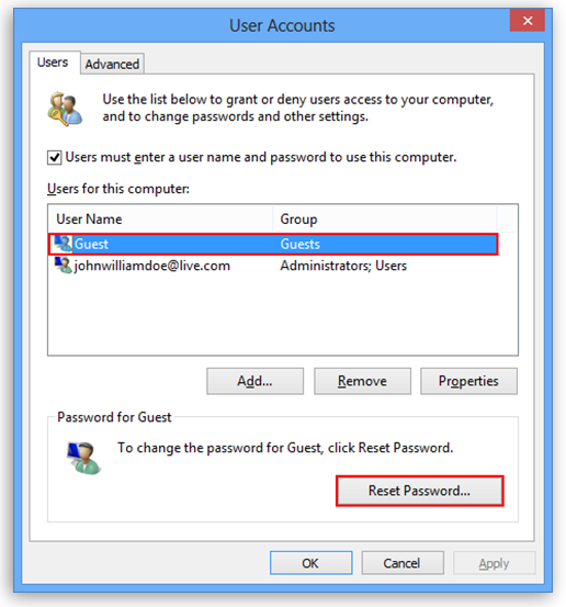 Ways to Turn Off Password Protected Sharing In Windows 10