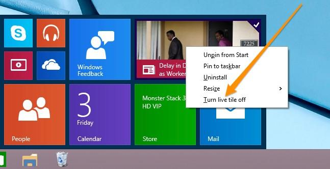 use the start menu in windows 10