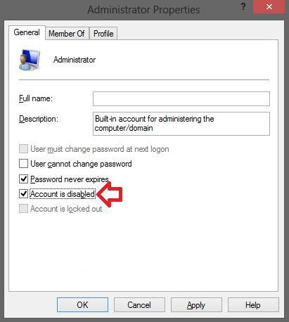 enable built-in administrator windows 8.1