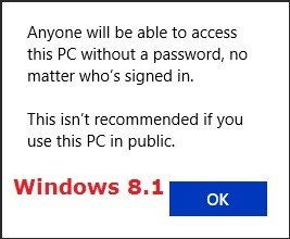 enable require password on wakeup in windows 8