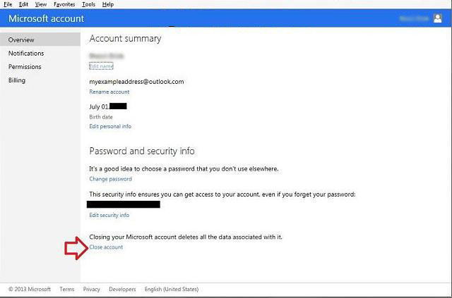 how to remove microsoft account in windows 8