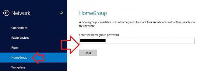 join a homegroup in windows 8