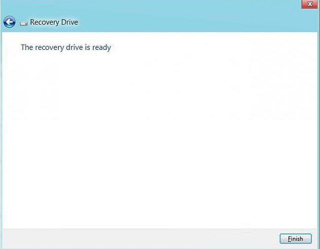 create recovery usb flash drive in windows 8.1