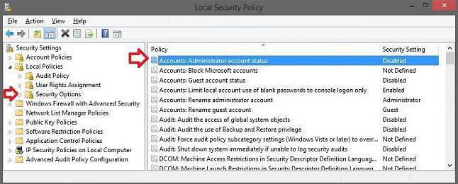 how to enable the built-in elevated administrator account in windows 8.1