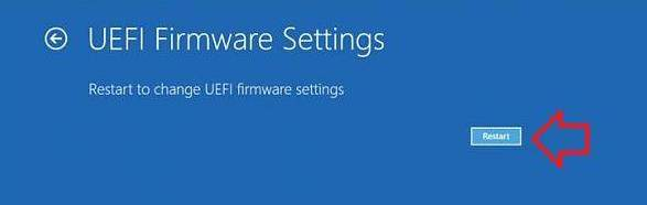 how to boot to the uefi bios in windows 8.1