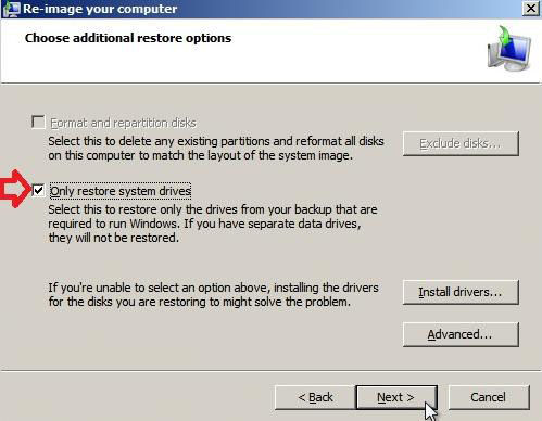 how to restore windows 8 with system image backup
