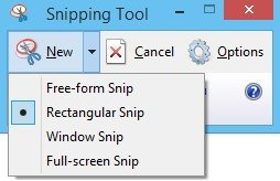 how to take a screenshot in windows 8