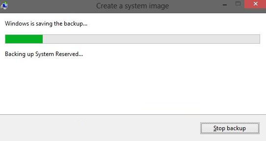how to create a system image in windows 8.1