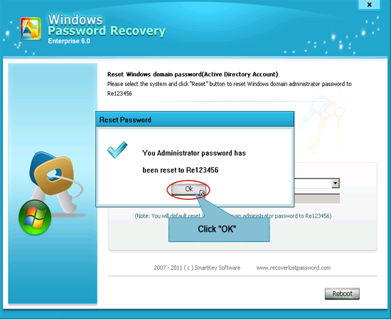 windows password reovery enterprise
