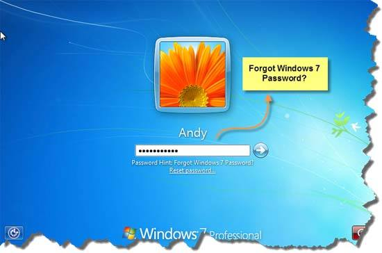 how to put a password on a computer windows 7
