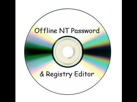 offline nt password and registry editor