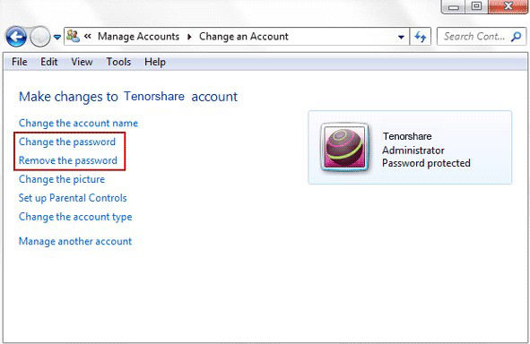 administrator account locked windows 7